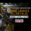 War Crime Sri Lanka :Headlines Today Reporter Won The Best Investigative Report Award