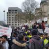 London: Hundreds Of Tamils Protest Against Srisena