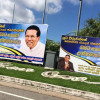 The New Cutout King: Posters Praise Sirisena For Defeating Imperialist Forces !