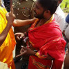 Tension Mounts As Batticaloa Buddhist Monk Encroaches A Private Land To Erect Temple