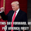 From This Day Forward It's Going To Be Only America First: Donald Trump's Inauguration Speech In Full