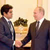 Russian President Vladimir Putin Meets Daham Sirisena
