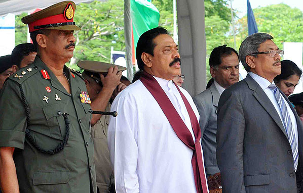 The main difference is that before launching their murderous final offensive, the Rajapaksas ordered all UN agencies, INGOs, and media to leave the war-zone, so that there would be no outside witnesses to the impending horror, no blow by blow media accounts and no way for victims to be seen and to be heard.