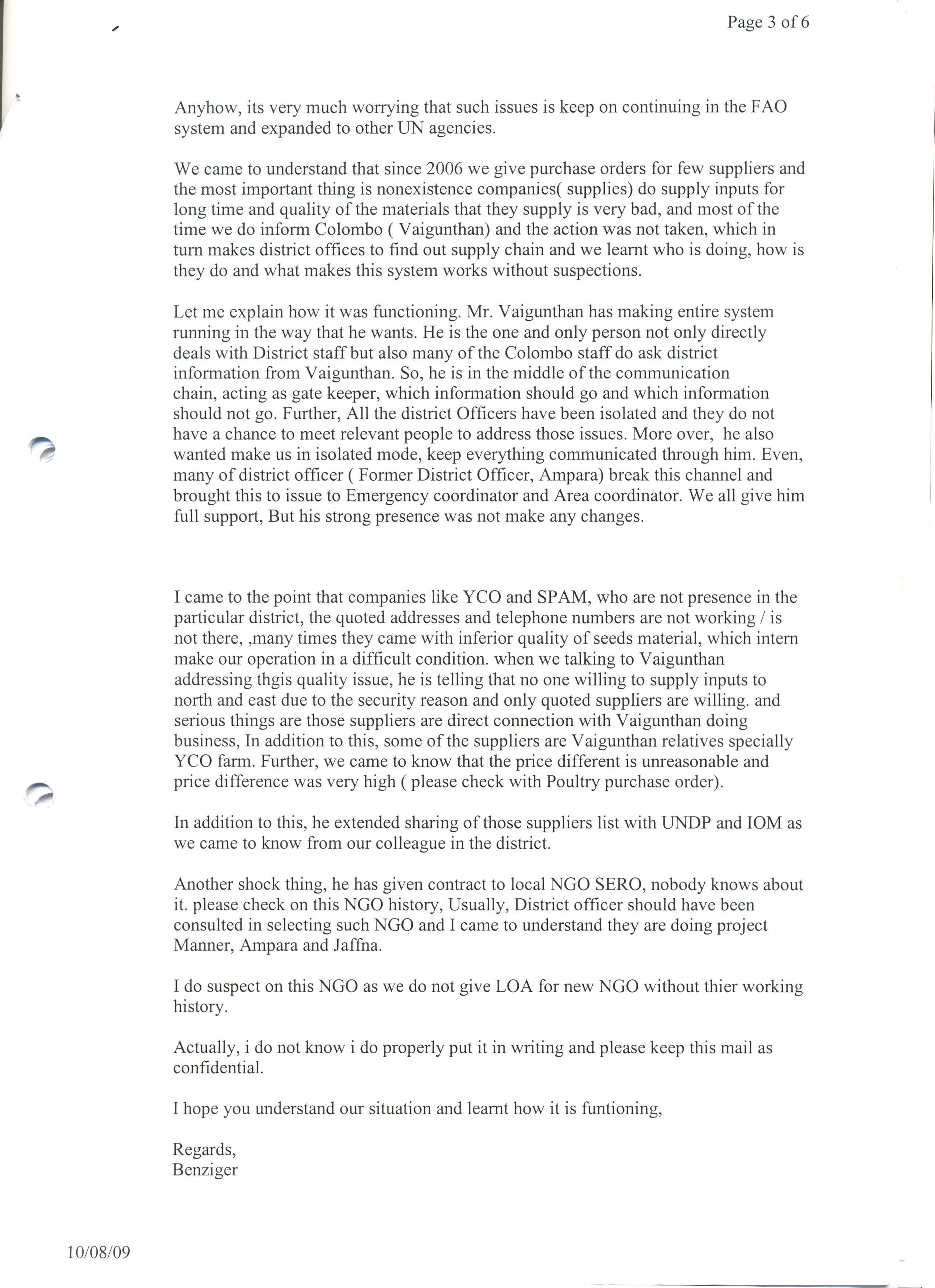 an - Cover Letter United Nations