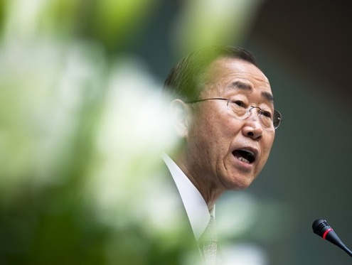 Ban Ki-moon, the United Nations secretary general