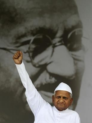 anna hazare anti corruption movement essay