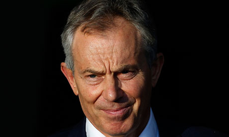 Tony Blair in London