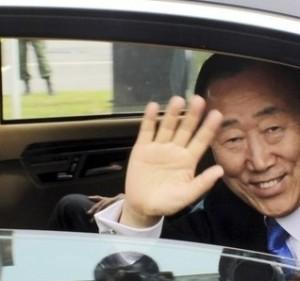 UN chief Ban Ki-moon