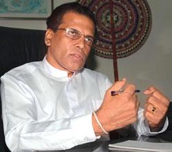 Sry Lanka: Ministro de Salud anuncia candidatura presidencial