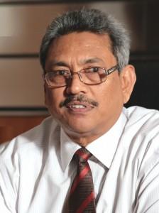 Gotabaya Rajapaksa -Secretary, Defence and Urban Development