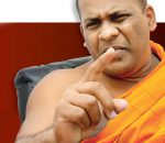 BBS Gnanasara Threatens To 'Split The Ear' Of Journalist C.A. Chandraprema