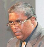 C.A.Chandraprema political columnist for the Island newspaper