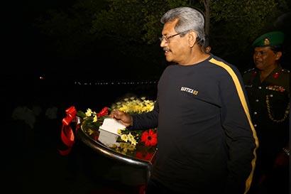 Secretary to the Ministry of Defence Gotabaya Rajapaksa