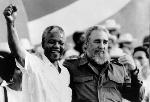 Mandela and Castro | File photo