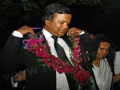 President of the Bar Association Upul Jayasuriya