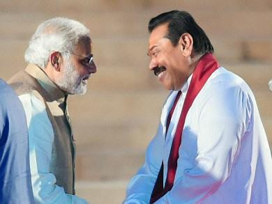 Inasmuch as President Mahinda Rajapaksa's nationalism is in relation to Sri Lanka, so would the Indian Prime Minister's nationalism be in relation to India's national interest.