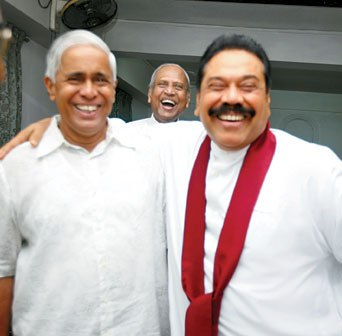 Sarath and Mahinda