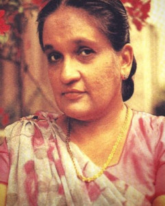 Prime Minister Sirima Bandaranaike
