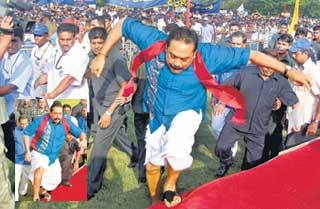 Mahinda jump
