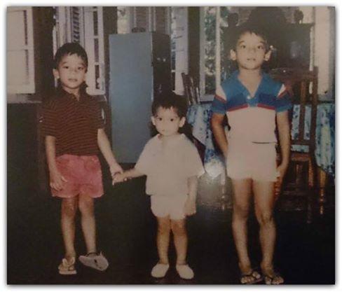 Namal, Rohitha and Yoshitha