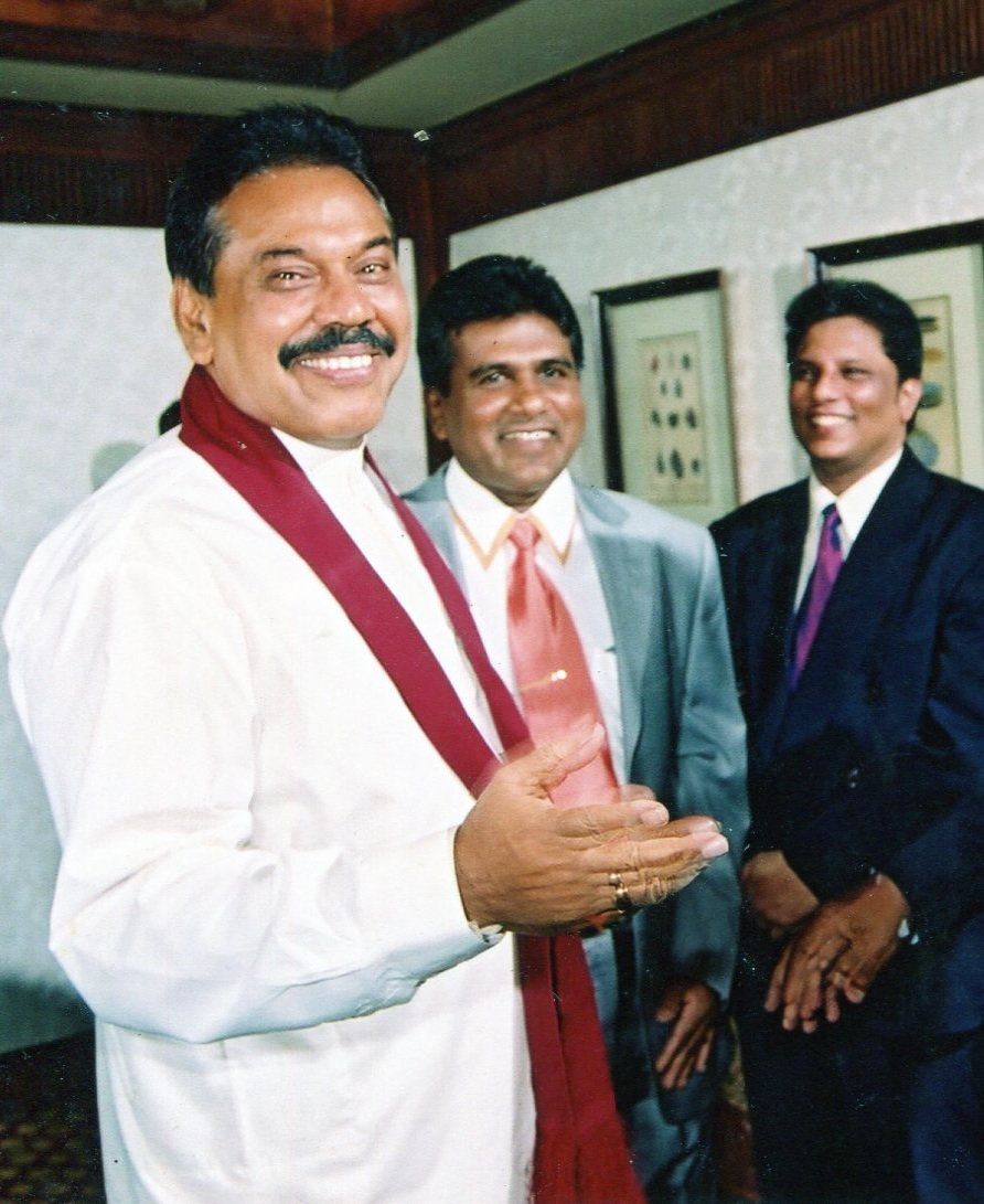 Mahinda Wijedasa and Lasantha