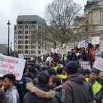 London Tamil protest March 09