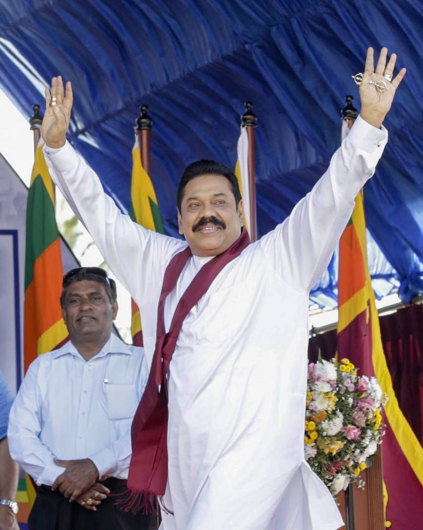 Mahinda Januray 14 2015