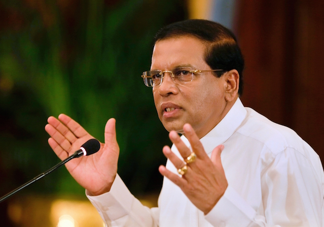 Maithripala Sirisena 13, July 15 Prz media