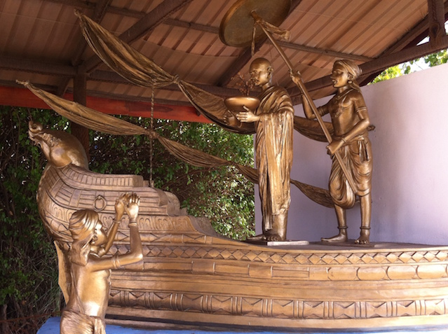 Sangamitta Buddhist Temple built in Madagal at Dambakola Patuna