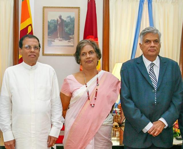 Chandrika Maithri Ranil