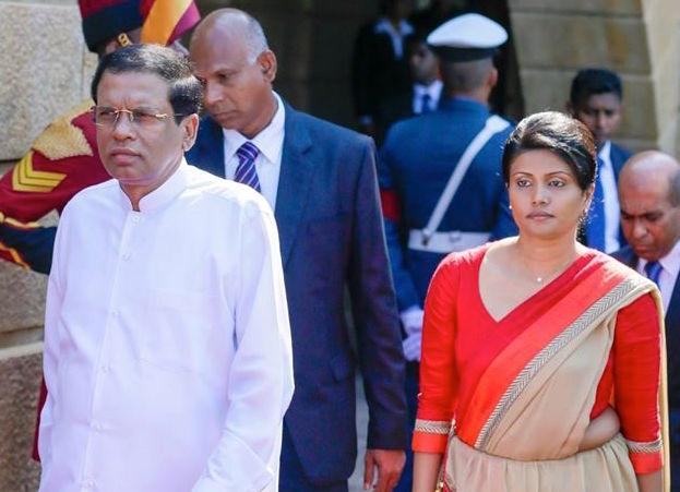 Chthirika Sirisena and Maithripala Sirisena