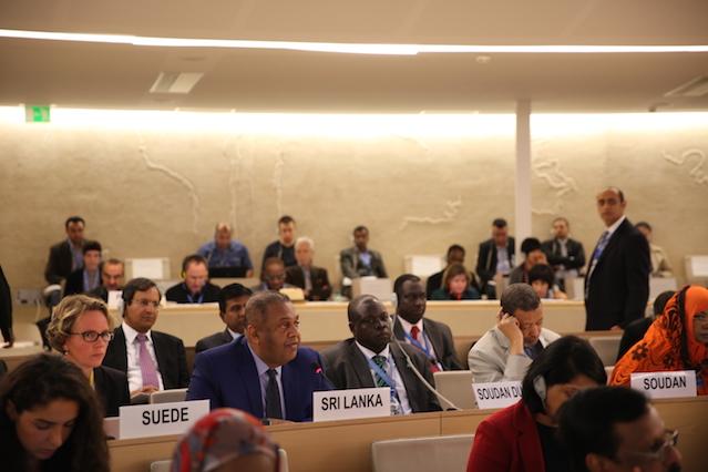 Mangala 2015 Sep UNHRC