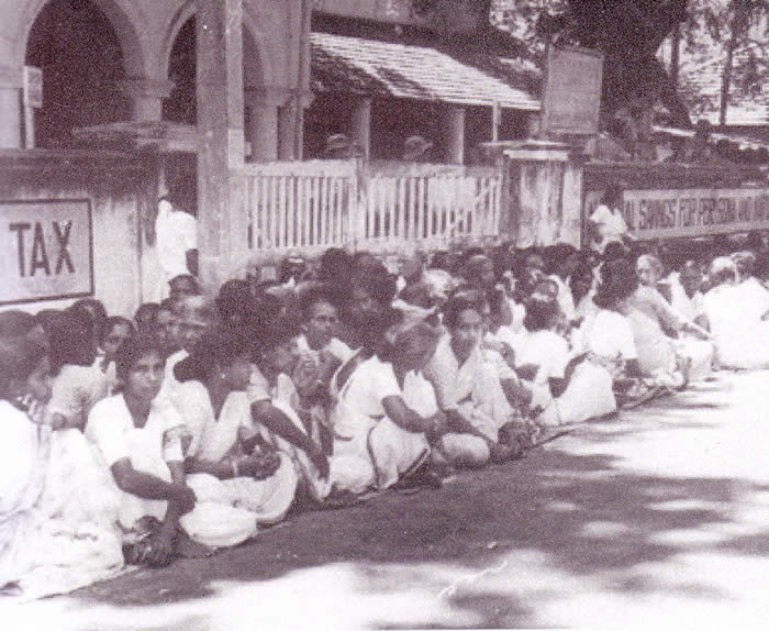 protest Jaffna women