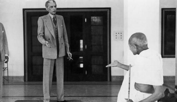 Jinnah and Gandhi