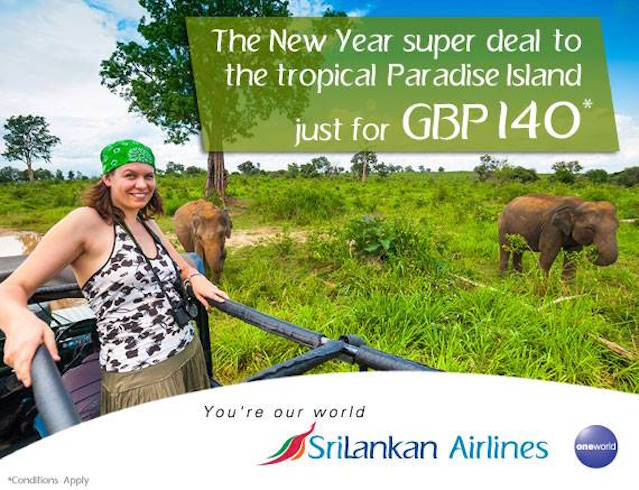 SriLankan Airlines Elephant AD