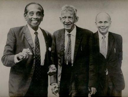 GG Ponnambalam, SJV Chelvanayakam & M Tiruchelvam