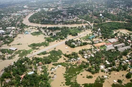Roads Turn Into Rivers, As Over 220,000 Are Displaced By ...