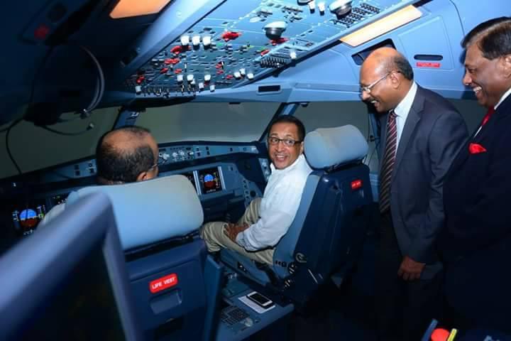 Srilankan airlines minister kabir hashim continues his yahapalanaya blab as 27 cabin crew - Srilankan airlines office ...