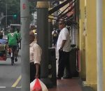 Arjuna Mahendra Spotted In 'Little India' Singapore
