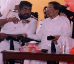 CID Says It Has Sufficient Evidence To Arrest CDS: Beleaguered Admiral Makes Public Appearance With Sirisena